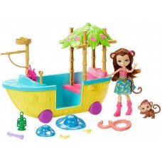 Enchantimals Джунгли-лодка
