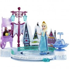Кукла Эльза в наборе с катком, Disney Princess с аксессуарами (Mattel. Disney Princess, DFR88пц)