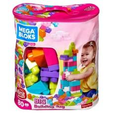 """Конструктор Mattel Mega Bloks Fisher-Price Мешок """"Мой первый конструктор"""" 60 деталей (2 в ассортименте)"""