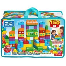 Конструктор Mattel Mega Bloks Fisher-Price Набор Обучающих блоков, 150 деталей