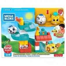Конструктор Mattel Mega Bloks Fisher-Price Прячься и катайся