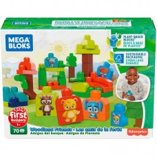Конструктор Mattel Mega Bloks Fisher-Price ЭКО Лесные Друзья