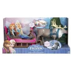 Олень Свен в наборе с санями, Disney Princess
