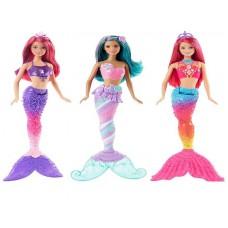 Barbie. Куклы Барби из серии РАДУЖНАЯ РУСАЛОЧКА (Mattel, DHM45)