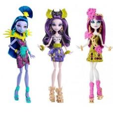 Школа монстров. Куклы из серии Монстрические каникулы (Mattel, DKX98)