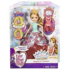 Кукла Эшли Элла в трансформирующемся платье 2 в 1 Ever After High (Mattel, DNB90)