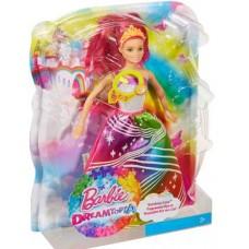 Barbie. Барби Радужная принцесса с волшебными волосами (Mattel, DPP90)