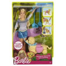 "Набор ""Семья Barbie"" Прогулка с питомцем Barbie (Mattel, DWJ68)"