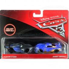 Mattel Джексон Шторм №20 и Даниэль Верти №19 (Тачки-3)