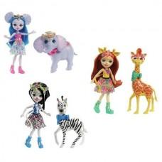 Enchantimals Кукла с большой зверюшкой, 3 в ассортименте
