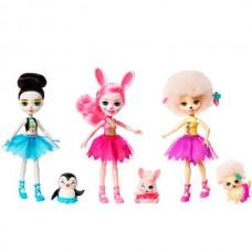 """Enchantimals Набор из трех кукол """"Волшебные балерины"""""""