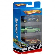 Hot wheels Набор из 3 машинок (Mattel, K5904)