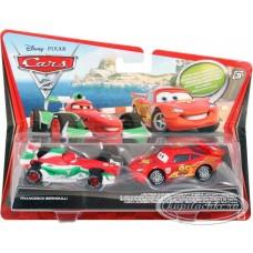 Mattel Франческо и МакКуин на колесах для отдыха