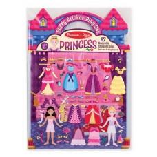 """Альбом с многоразовыми стикерами и фоном """"Принцессы"""""""