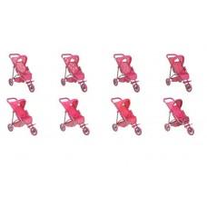 Коляска для кукол - трансформер, сидячая 60*32*54 см Buggy Boom Nadin (MELOBO, 8339AB)