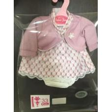 0133 Комплект одежды для кукол высотой 33см. в ассортименте