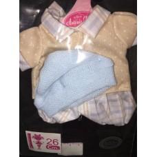 0326 Antonio Juan Комплект одежды для куклы 26 см