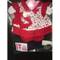 0626 Antonio Juan Комплект одежды для куклы 26 см