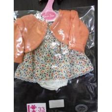 0733 Antonio Juan Комплект одежды для куклы 33 см
