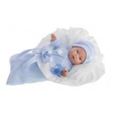 1110B Кукла Antonio Juans Ланита в голубом (плачет) 27см.