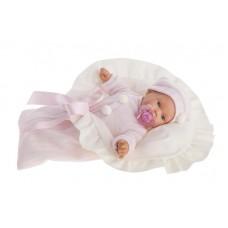 1110P Кукла Antonio Juans Ланита в розовом (плачет) 27см.