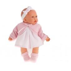 1228P Antonio Juan Кукла Петти в розовом плачет 27см.