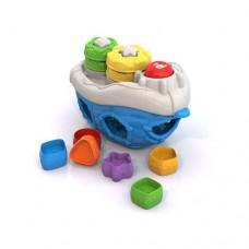 Игрушка дидактическая Кораблик 22х12,5х13,5 см (Нордпласт, Н-1300)