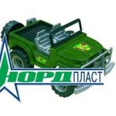 """Джип сафари """"Коммандос"""" 32,5х19х16,5 см (Россия) (Нордпласт, Н-235-no)"""