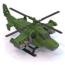 Вертолет Военный 40х27х15,5 см. (Нордпласт, Н-247)