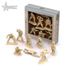 """Солдаты """"Морские котики"""" США (8 шт. в коробке)"""