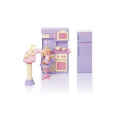 Кухня Маленькая принцесса, сиреневая