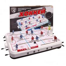 Игра настольная Хоккей КХЛ, 74,5x46,5x9,5 см (Омский завод электротоваров, ОМ-48200KHL)