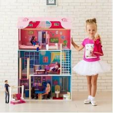 """Дом кукольный """"Муза"""" (с лифтом, мебелью и качелью)"""