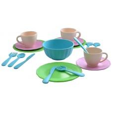 """Набор посуды """"Сервиз чайный Подружки"""" 13х16х13 см."""
