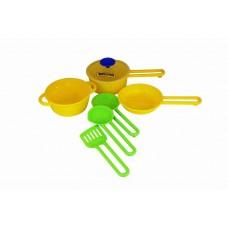 Набор детской посуды Поварёнок №1, 19,5х13,5х9 см. (Полесье, П-40688)