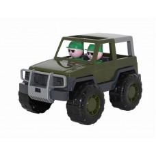 Автомобиль джип военный Вояж 23,5 см. (Полесье, П-47021)