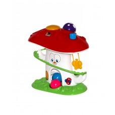 Игрушка развивающая Забавный гриб (в сеточке) 27,2х14,5х26,9 см. (Полесье, П-47892)