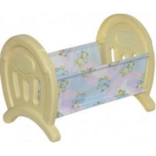 Кроватка сборная для кукол большая (в пакете) (Полесье, П-55996)