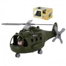 """Вертолёт военный """"Альфа"""" (в коробке) 29х16,5х15,5 см."""