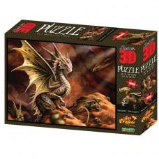 Пазл 3D 500 Пустынный дракон