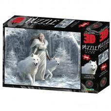 Пазл 3D 500 Зимние стражи