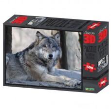 Пазл 3D 500 Волк