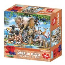 Пазл 3D 150 Улыбка Африки