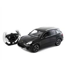 Машинка на радиоуправлении RASTAR Porsche Cayenne Turbo цвет черный 2.4G, 1:14