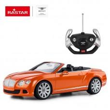 Машина р/у 1:12 Bentley Continetal GT Цвет Оранжевый