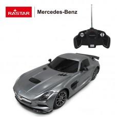 Машина р/у 1:18 Mercedes-Benz SLS AMG Цвет Серебряный