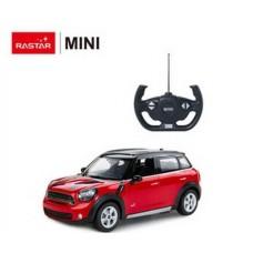 Машинка на радиоуправлении RASTAR Mini Countryman цвет красный 27MHZ, 1:14