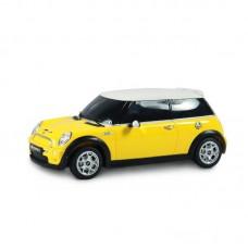 Машина р/у 1:18 Minicooper S, цвет жёлтый 27MHZ