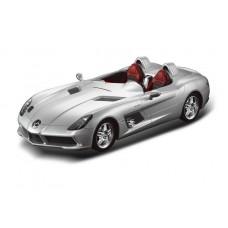 Машина р/у 1:12 Mercedes-Benz SLR, 50х22х20.5см, цвет серебряный 40MHZ