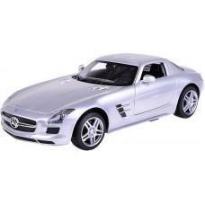 Машина р/у 1:14 Mercedes-Benz SLS AMG, цвет серебряный 40MHZ